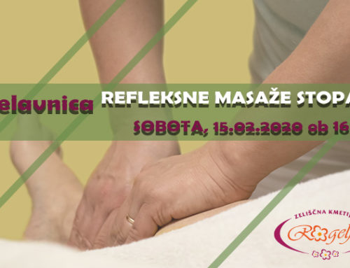 Delavnica na temo refleksne masaže stopal (za domačo rabo)