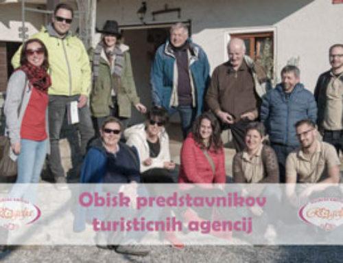 Obisk predstavnikov turističnih agencij
