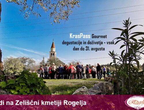 KrasPass Gourmet degustacije in doživetja tudi na Zeliščni kmetiji Rogelja