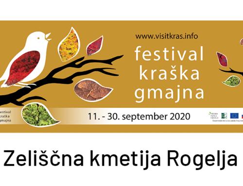 Zeliščna kmetija Rogelja na stežaj odpira svoja vrata | Festival Kraška Gmajna | Sobota 29. maja in nedelja 30. maja