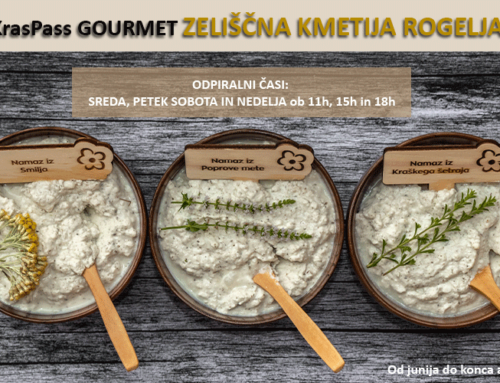 KrasPass Gourmet | Zeliščna kmetija Rogelja